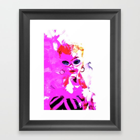 Vintage Barbie Framed Art Print By Ylenia Pizzetti Society6