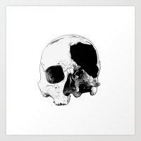In Thee Dark We Live Art Print