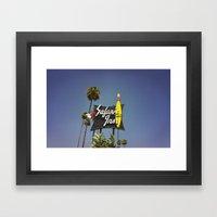 Safari Inn Framed Art Print