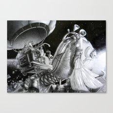Fish of destiny Canvas Print