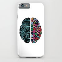 brain iPhone & iPod Cases featuring Brain by BlueLela