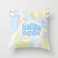 Hakuna Matata Pastel  Throw Pillow