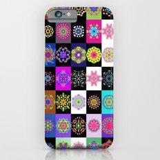 Neon Mandala iPhone 6 Slim Case