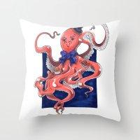 ::Mister Octopus:: Throw Pillow