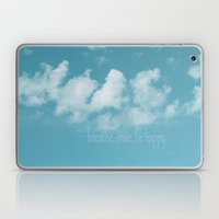 Blue Sky Meditation Laptop & iPad Skin