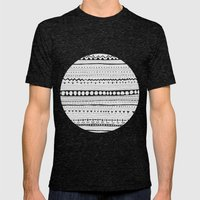 Pattern #1 Mens Fitted Tee Tri-Black SMALL