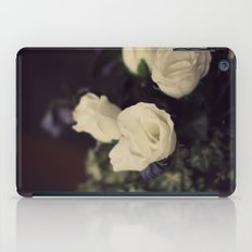 White Roses iPad Case
