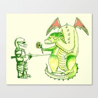 Good v.s. Evil? Canvas Print