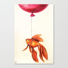 Dream About Flying Canvas Print