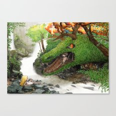 Forest Dragon Canvas Print