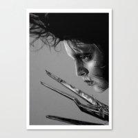 + Scar Tissue + Canvas Print