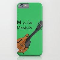 M is for Mandolin iPhone 6 Slim Case