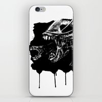 They're Coming Outta The… iPhone & iPod Skin