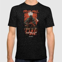 Every Slasher Movie Mens Fitted Tee Tri-Black SMALL