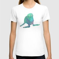 Albino Seal From The Cosmos Womens Fitted Tee White SMALL