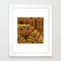 Is This Space Taken? Framed Art Print