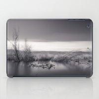 Mammoth Lagoon. Monochro… iPad Case
