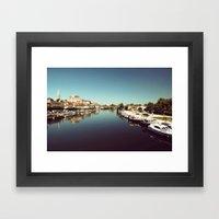 Auxerre Framed Art Print