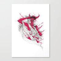 Somebody That I Used To Know Canvas Print