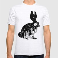 Leporidae Mens Fitted Tee Ash Grey SMALL