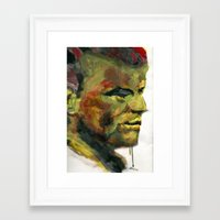 Swamp thing Framed Art Print