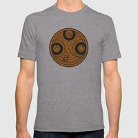 The Seal of Rassilon Mens Fitted Tee Athletic Grey SMALL