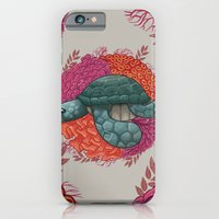 turtle iPhone & iPod Cases featuring Turtle by ErDavid