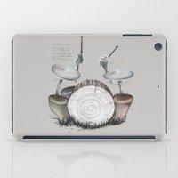 Mushroom Drums iPad Case