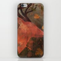 Monarch of Autumn iPhone & iPod Skin