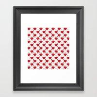 Hearts Galore! Framed Art Print