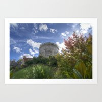 Round Tower - Windsor Castle Art Print