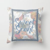 The Sweet Scent of Spring Throw Pillow
