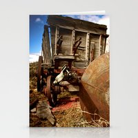 Old Mill Farm Equipment Stationery Cards