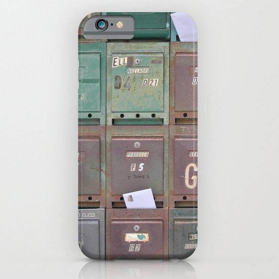 Mailboxes I iPhone & iPod Case