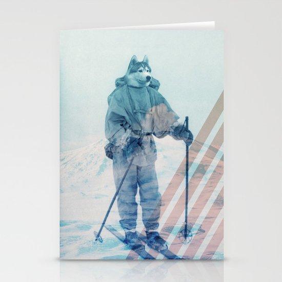 Husky Exploration Stationery Card