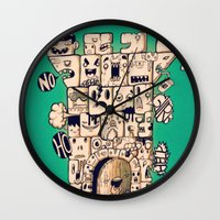 man castle Wall Clock