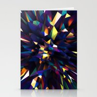 Low Iris Poly Stationery Cards