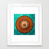 Ezekial's Wheel Framed Art Print