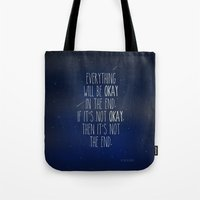 The Fault In Our Stars Tote Bag