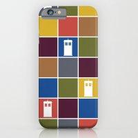 TARDIS Tiles iPhone 6 Slim Case