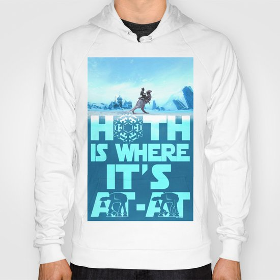 Hoth is Where it's At-At Hoody