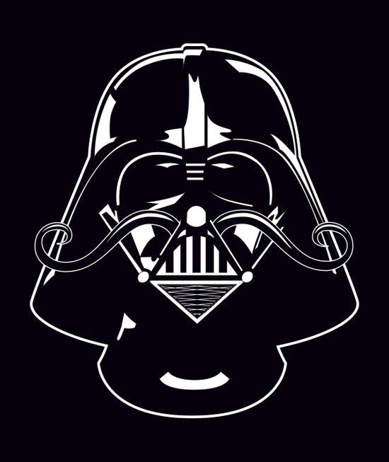 V for Vader Canvas Print