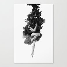 The born of the universe Canvas Print