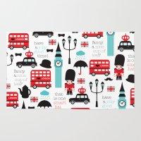 London Icons Illustratio… Rug
