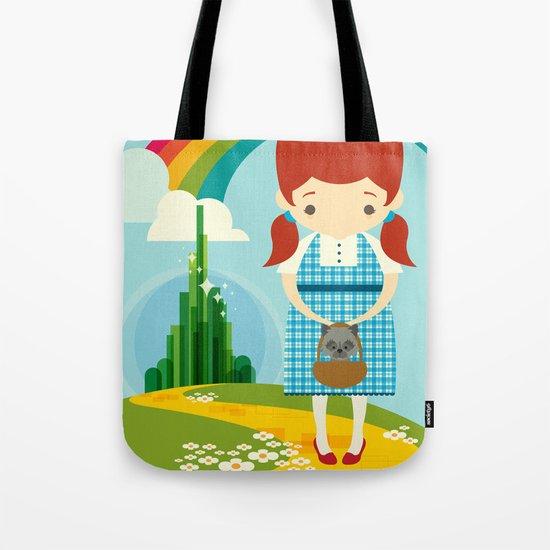 Dorothy Wizard of Oz Tote Bag
