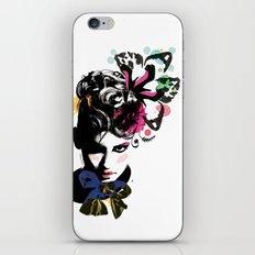 Fashion woman iPhone & iPod Skin