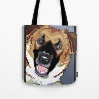 Trina Dog Tote Bag