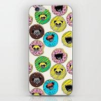 Pug Donuts  iPhone & iPod Skin