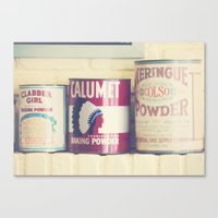 Baking Tins Canvas Print