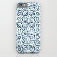 tile pattern IV - Azulejos, Portuguese tiles iPhone 6 Slim Case